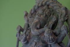 Ganesh Sacred som dyrkanen av det indiska folket i Hinduism royaltyfri bild