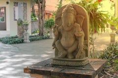 Ganesh Sacred som dyrkanen av det indiska folket i Hinduism royaltyfri fotografi
