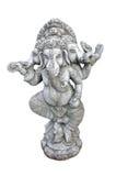 Ganesh schnitzte im Granit stockfoto