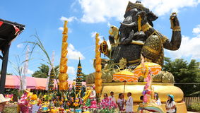 Ganesh scrap iron big Royalty Free Stock Images