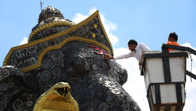 Ganesh scrap iron big Royalty Free Stock Photography