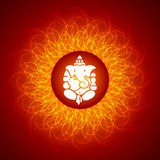 ganesh shree Λόρδου Στοκ εικόνα με δικαίωμα ελεύθερης χρήσης