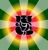 ganesh shree Obrazy Royalty Free