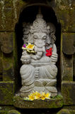 Ganesh statue in bali indonesia Royalty Free Stock Images