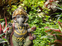 Ganesh Statue God der künstlerischen Stellung Stockbilder