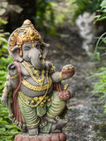 Ganesh Statue God der künstlerischen Stellung Lizenzfreie Stockbilder