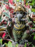 Ganesh Statue God der künstlerischen Stellung Stockfotos