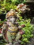 Ganesh Statue God der künstlerischen Stellung Stockfoto