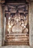 Ganesh statue in Hampi Stock Photo