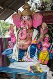 Ganesh statue in india temple Royalty Free Stock Photos