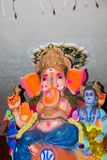Ganesh statue in india temple Royalty Free Stock Photography