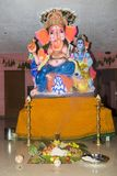 Ganesh statue in india temple Stock Photo