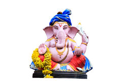 Ganesh statue in isolate with cliping path Stock Image
