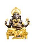 Ganesh statue in isolate with cliping path Stock Photography