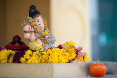 Ganesh Statue, Little India, Singapore Stock Photos