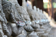 Ganesh. Statue in  Museum in Chiangmai, Thailand Stock Image