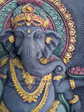 Ganesh Statue Radiates Prestige Royalty Free Stock Photo