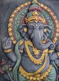 Ganesh Statue Radiates Prestige stock afbeelding