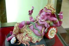 Ganesh Statue replica in the box set. Stock Photo