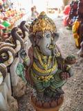 Ganesh Statue Standing Royaltyfria Foton