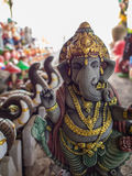 Ganesh Statue Standing with Kindness. The Ganesh Statue Standing with Kindness Royalty Free Stock Photography