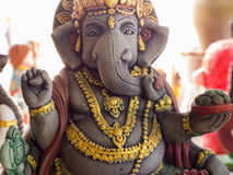 Ganesh Statue Standing with Kindness. The Ganesh Statue Standing with Kindness Royalty Free Stock Images