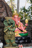 Ganesh statue. In Thailand temple most famous in Thailand at Saen Suk Hell Garden Chonburi on Nov7,2015 Stock Images