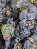 Ganesh Statues in Different Postures. The Ganesh Statues in Different Postures Royalty Free Stock Photo