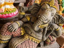 Ganesh Statues in Different Postures. The Ganesh Statues in Different Postures Royalty Free Stock Image