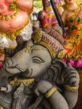 Ganesh Statues in Verschillende Houdingen stock fotografie