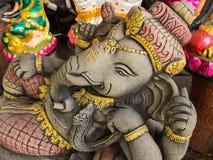 Ganesh Statues in Verschillende Houdingen stock afbeelding