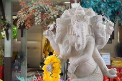 Ganesh staty i det Nakornnayok landskapet av Thailand Royaltyfri Bild