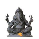 Ganesh symbolsisolering Royaltyfri Fotografi