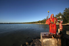 Ganesh temple in Mauritius island Stock Images