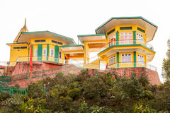 Ganesh Tok Viewpoint. In Gangtok, Sikkim state of India stock images