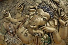 Ganesh. Very close up shot of Lord ganesha Royalty Free Stock Photo