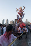 Ganesh visargan obrazy stock