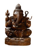 Ganesh wood carving Royalty Free Stock Photos