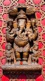 Ganesha印度大象朝向成功的神 库存图片