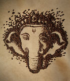 Ganesha咖啡 图库摄影