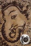 Ganesha咖啡 库存图片