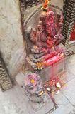 Ganesha或Ganesh在Thamel加德满都尼泊尔 图库摄影