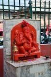 Ganesha或Ganesh在Thamel加德满都尼泊尔 库存照片