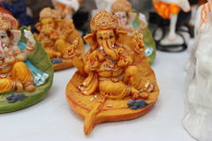Ganesha神象 图库摄影