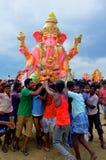 Ganesha节日印度 免版税库存图片