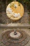 Ganesha雕塑 库存图片