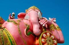 Ganesha雕象 库存照片