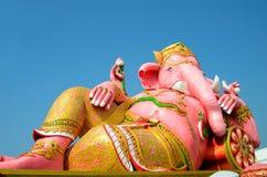 Ganesha雕象 免版税库存图片
