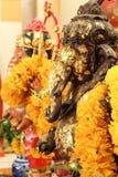 Ganesha雕象 图库摄影