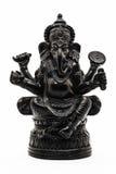 Ganesha,新的起点的印度上帝,障碍去膜剂的崇拜图象 免版税库存照片